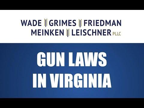 Gun Laws In Virginia - FAQ Friday