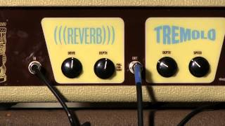 Billy Zoom Little Kahuna Reverb and Tremolo Unit