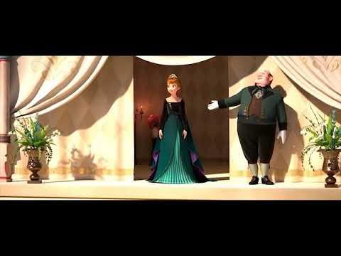 Холодное Сердце 2 - Момент из мультфильма Анна Королева Эренделла