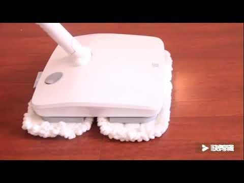 灑哇地咔無線手持電動擦地機
