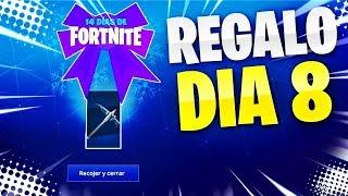 🔴 *EL REGALO DÍA 8 DE FORTNITE* !14 DÍAS DE FORTNITE! - 450 Wins