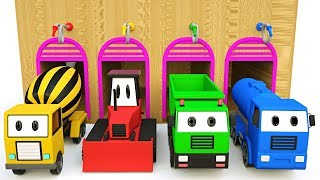 Trucks Magic Painting for Children - #excavator for Kids