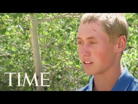This Teenage Camper In Colorado Woke Up To A Biting Sound, Then A Bear Started Dragging Him | TIME