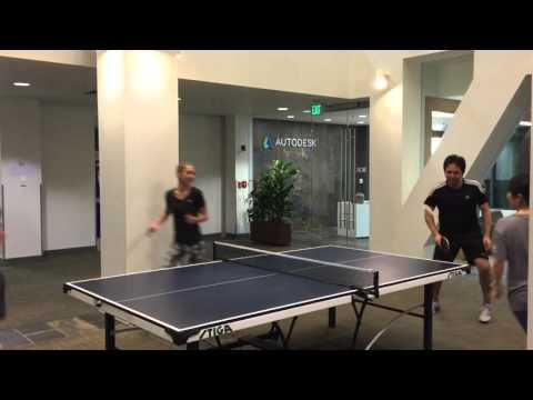AutoDesk Employee Ping Pong Tournament Fundraiser for Novato Youth Center