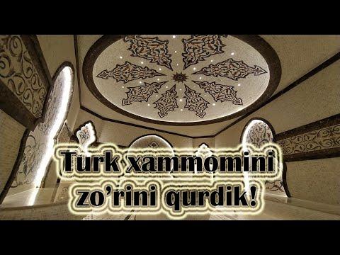Хамам достроен, Хамам секреты. Турецкая баня. Обзор. #хаммам #ташкент  #сауна   #строительство
