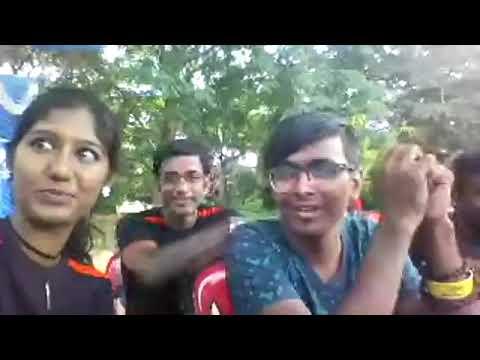 MC Thamizh Cohosting with Tamilnadu Bangalore Emcees Karthik and Indu at Bengaluru ITI Cricket Stadi