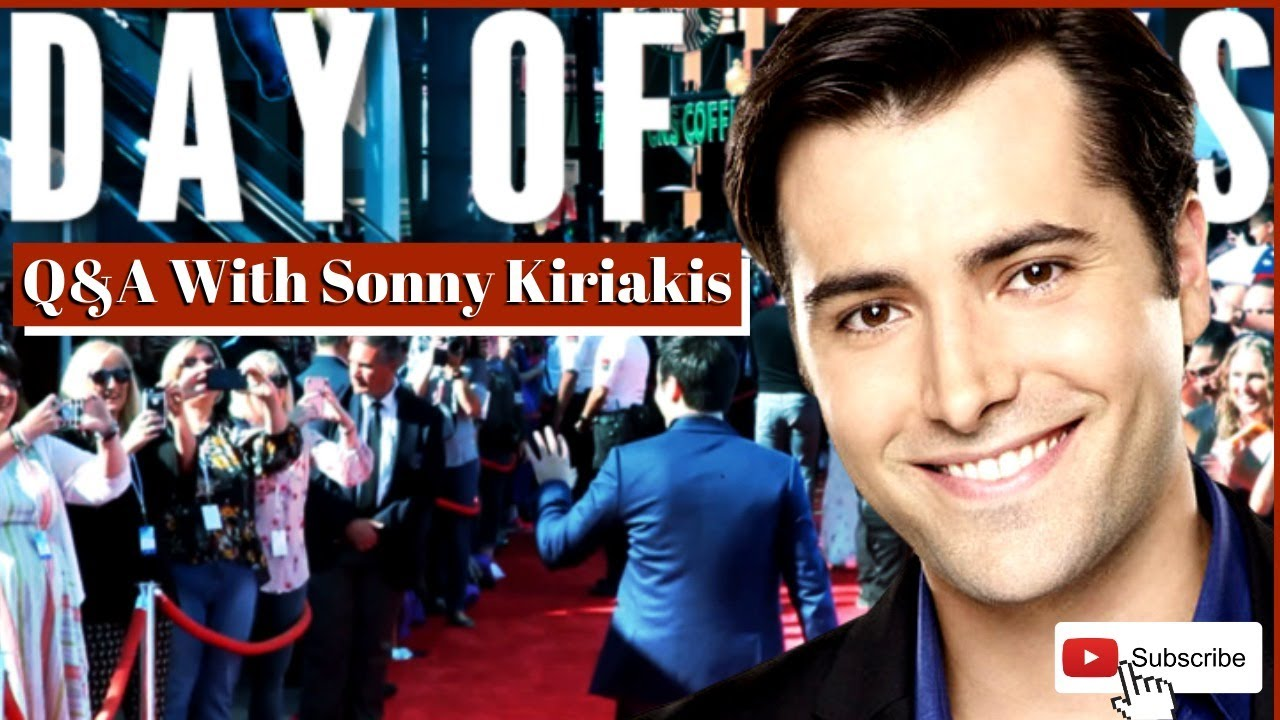 Live Q A With Sonny Kiriakis Days Of Our Lives 55 Year Celebration Youtube