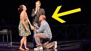 Man SHOCKS Girlfriend with Magical Wedding Proposal!!!!