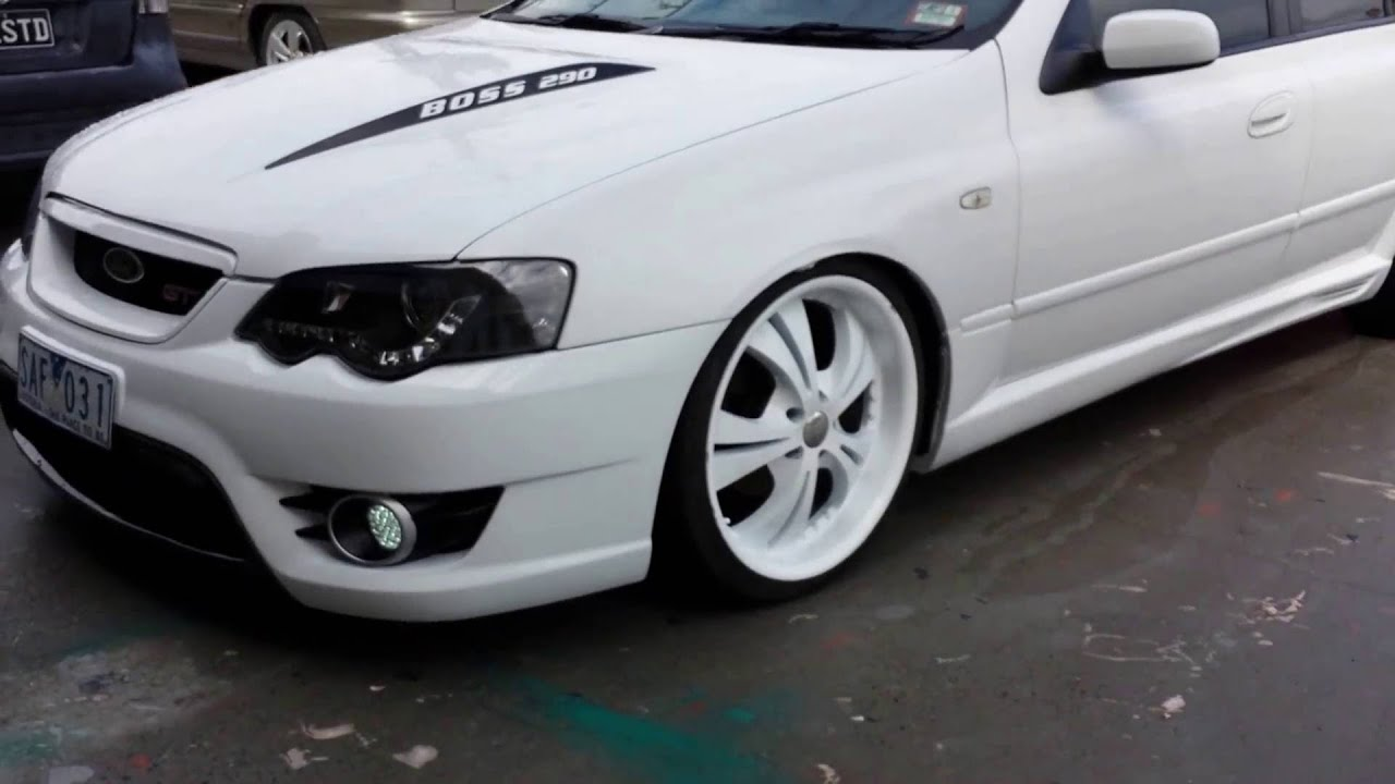 ford falcon ba custom bonnet bodykits paintjob 20inch ...