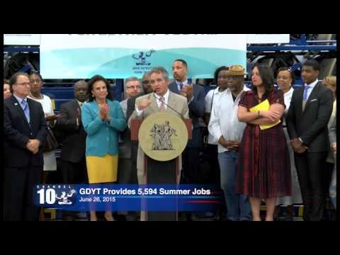 Mayor Duggan Youth Summer Jobs Press Conference