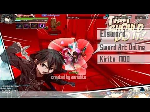 [Elsword] KiritoSAO Mod - Sword Art Online