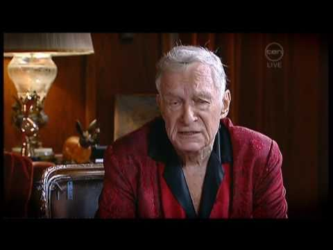 Hugh Hefner interview - The 7pm Project - Playboy, Activist and Rebel