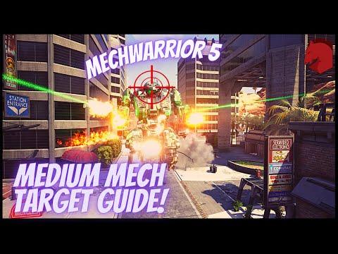 Where to target Medium Mechs! - MECHWARRIOR 5 MERCENARIES: Heroes of the Inner Sphere version |