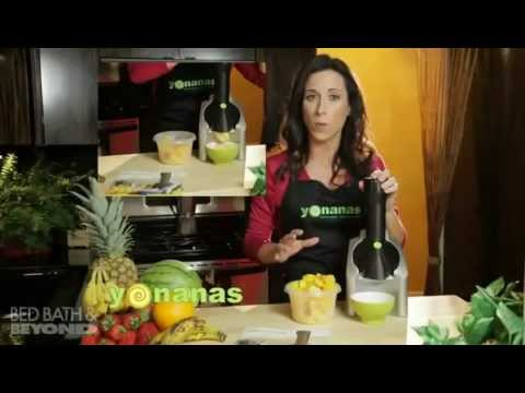 Yonanas Ice Cream Treat Maker At Bed Bath & Beyond