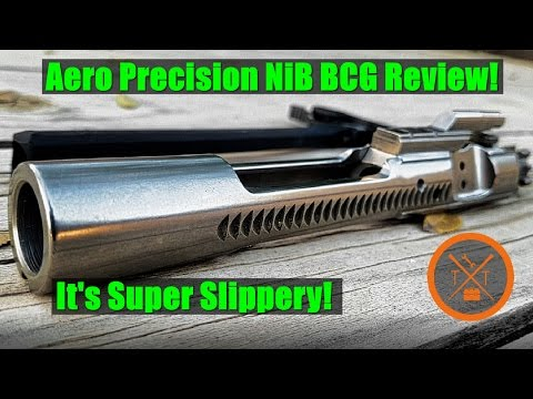 Aero Precision AR-15 Nickel Boron (NiB) BCG Review! No Lube!