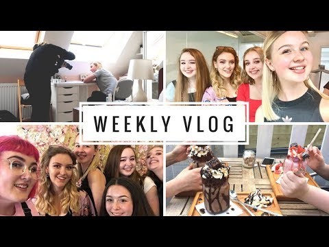 WEEKLY VLOG #4 | Hangout Live, BBC photoshoot & trip to London!