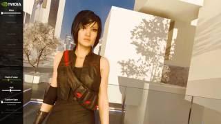 Технология NVIDIA Ansel доступна в игре Mirror's Edge Catalyst.