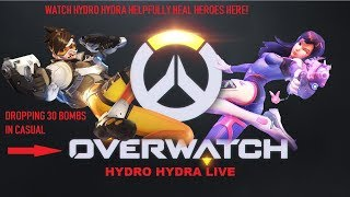 Overwatch live! lets talk anime or just chill/csgo