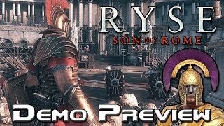 Ryse: Son of Rome gameplay demo (The Gaming Ground)