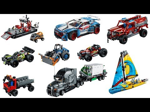 lego technic 2018 sets preliminary images youtube. Black Bedroom Furniture Sets. Home Design Ideas