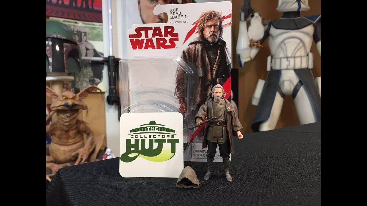 3.75 Inch Action Figure NEW Star Wars The Last Jedi Luke Skywalker Jedi Exile