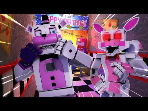 Minecraft.EXE - Evil Funtime Foxy.EXE Attacks!- Minecraft FNAF Roleplay