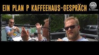 Marc Gork im Kaffeehaus-Gespräch