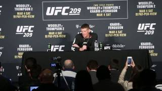 Stephen Thompson Post Fight Press Conference