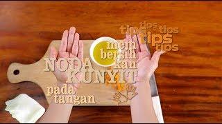 Chef's Table - Tips : Membersihkan Noda Kunyit