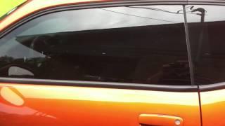 Remote Key trick to roll down windows on 2011 Dodge Challenger SE 3.6L V6