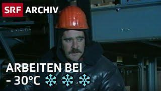 Lagerist in einem Kühlhaus (1986) | Extreme Jobs | SRF Archiv