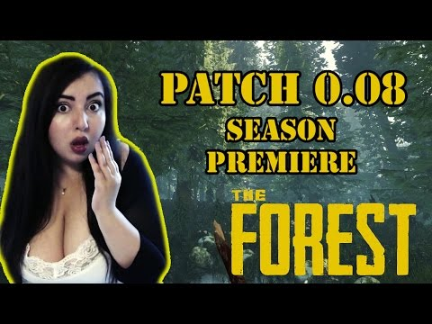 Let's Play The Forest - Patch 0.08 (Season Premiere!)