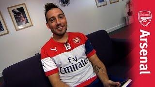 Santi Cazorla -  Arsenal Twitter Takeover
