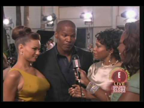 Jamie Foxx and Star Jones - 2005 Best Actor for Ray