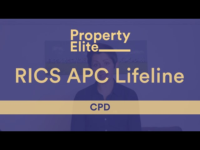 RICS APC Lifeline – CPD