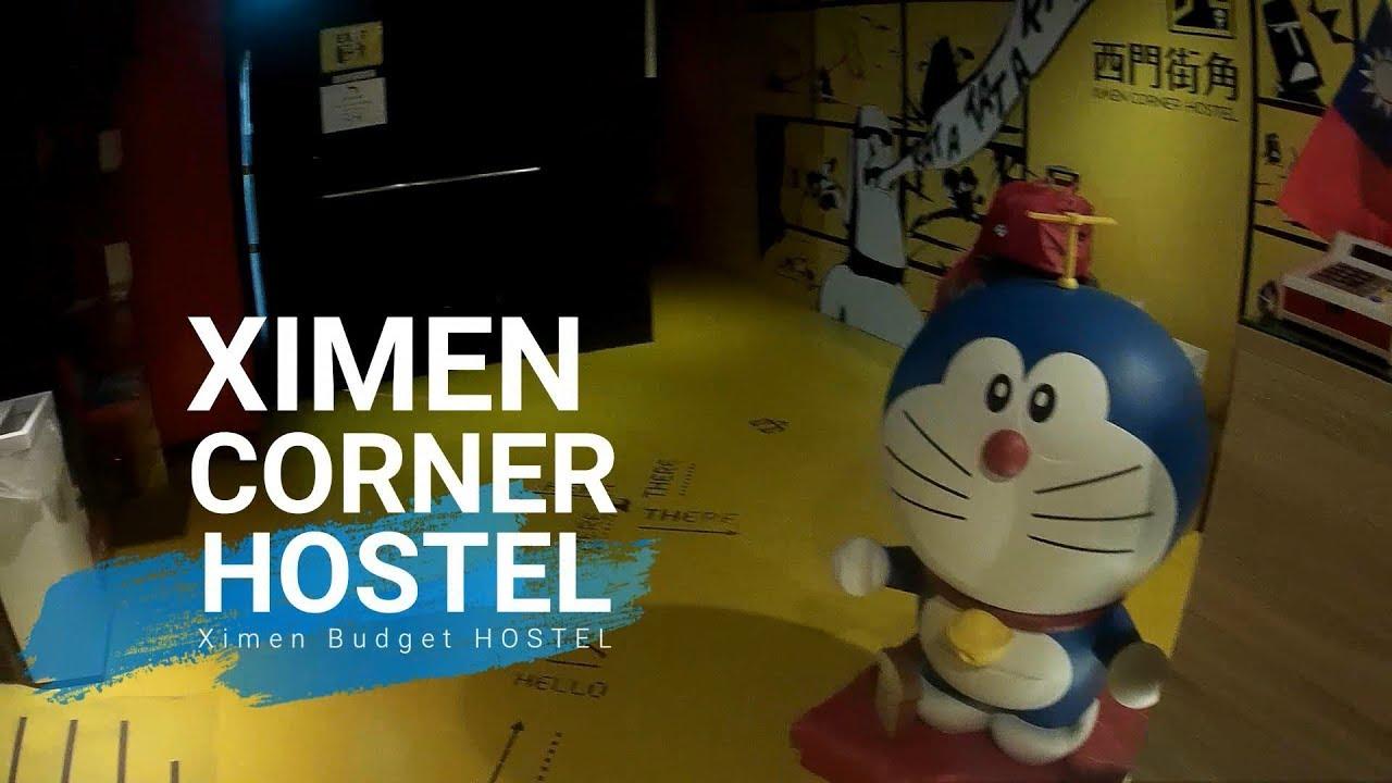 A Small Corner In Ximending Guesthouse Ximen Corner Hostel Taiwan Youtube