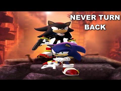 [SONIC KARAOKE] Shadow the Hedgehog - Never turn back (Crush 40) [WATCH IN HD]
