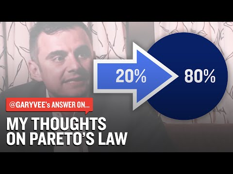 My Thoughts On Pareto's Law