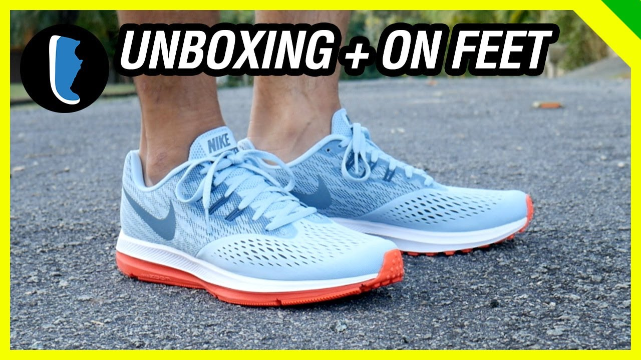 Running Negro Azul Verde Nike Zoom Winflo 4