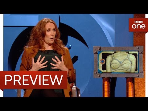 Catherine Tate puts minimiser bras into Room 101  Room 101: Series 6 Episode 1 P  BBC One