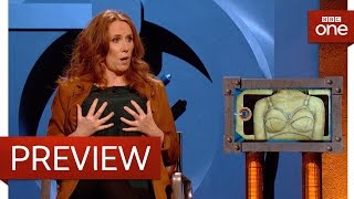 Catherine Tate puts minimiser bras into Room 101 - Room 101: Series 6 Episode 1 Preview - BBC One