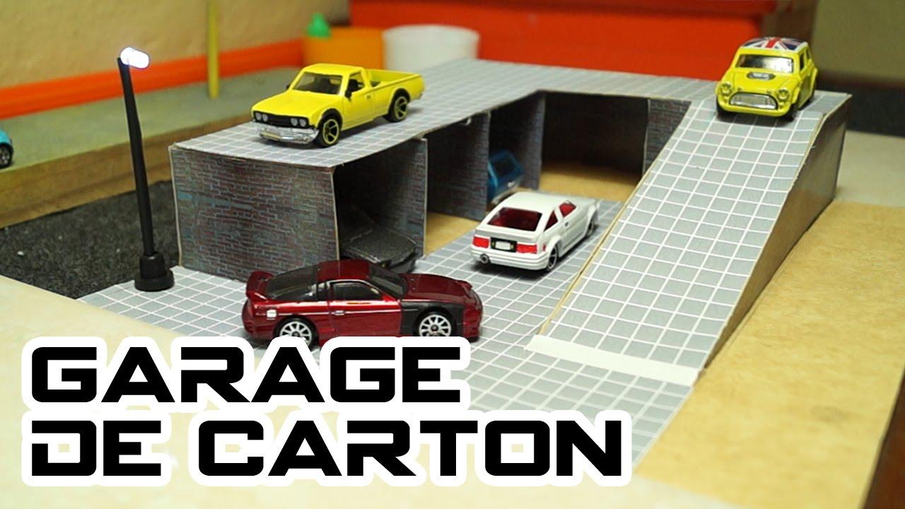 Fabuleux Cardboard Garage - YouTube FA35