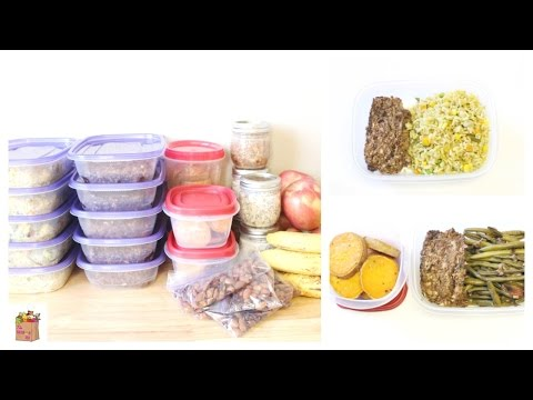 Repas de la Semaine/Meal Prep (Vegan)   The Mushroom Den