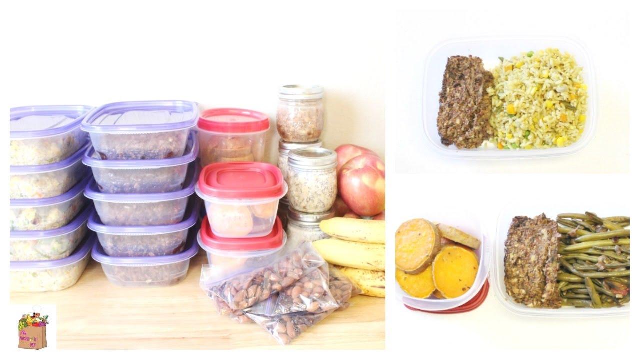 repas de la semaine meal prep vegan the mushroom den youtube. Black Bedroom Furniture Sets. Home Design Ideas