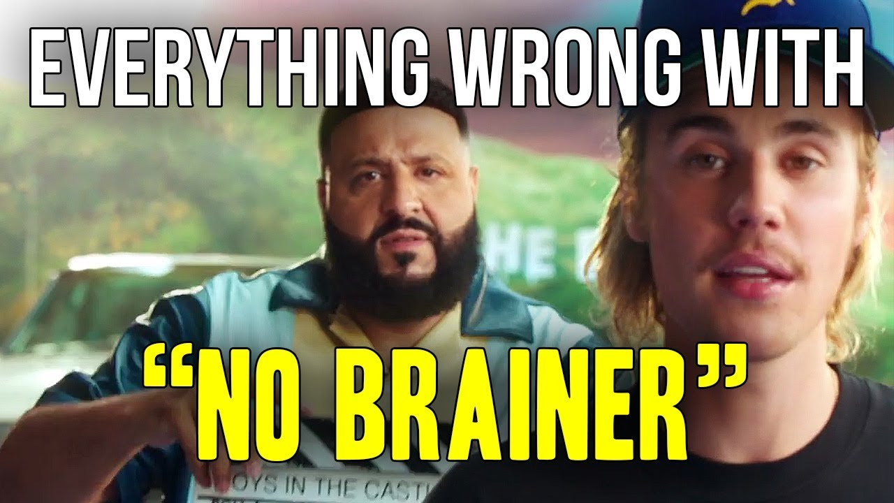 Everything Wrong With Dj Khaled No Brainer Ft Justin Bieber Chance The Rapper Quavo