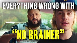 "Everything Wrong With DJ Khaled ""No Brainer ft. Justin Bieber, Chance The Rapper, Quavo"""