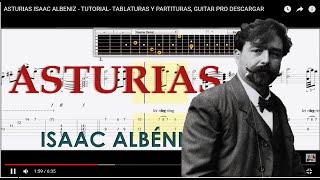 ASTURIAS ISAAC ALBENIZ TABLATURAS Y PARTITURAS, GUITAR PRO FREE, PUTLOCKER  Y MEGA GUITARRA CLASICA