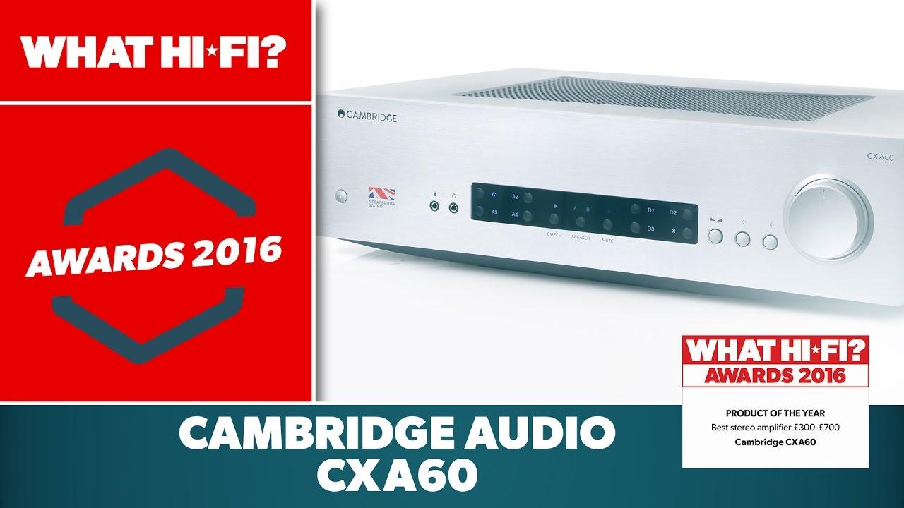 Cambridge Audio CXA60 review | What Hi-Fi?