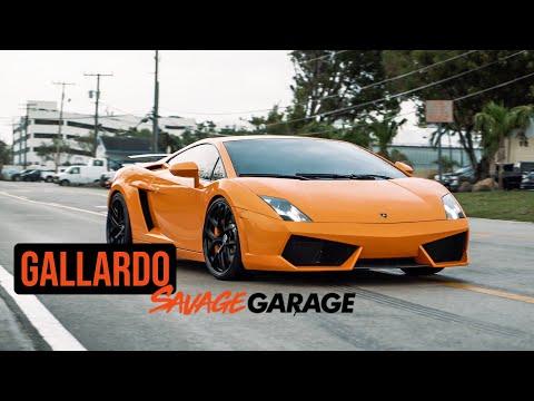SAVAGE GARAGE LAMBORGHINI GALLARDO LP550!