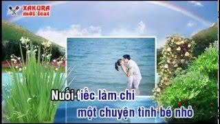 Karaoke [TAN CO] Lấy chồng xứ lạ - song ca Xakura